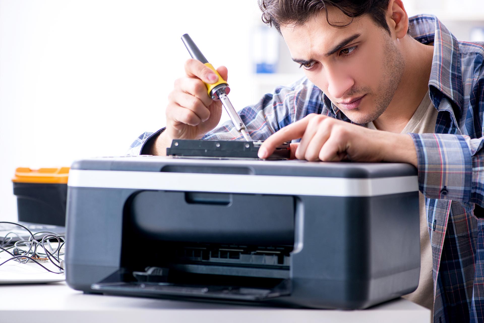 reparera skrivare